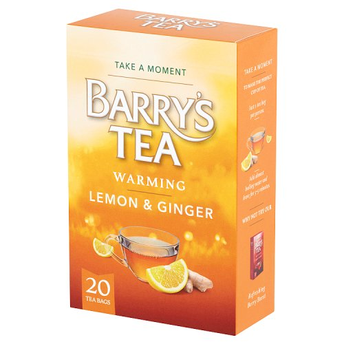 Barry's Tea Lemon & Ginger 20 Tea Bags 35g