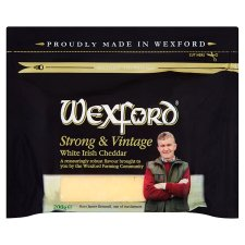 Wexford Strong & Vintage White Irish Cheddar 200g