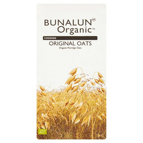 Bunalun Organic Cooking Original Porridge Oats 1kg