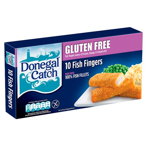 Donegal Catch 10 Gluten Free Fish Fingers 300g