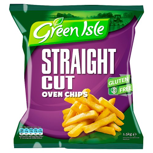 Green Isle Straight Cut Oven Chips 1.5kg