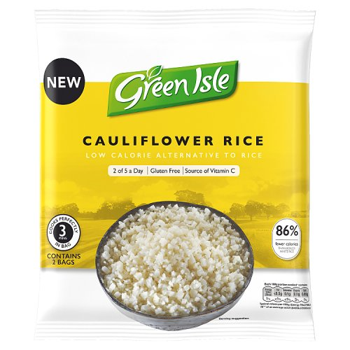 Green Isle Cauliflower Rice 2 x 160g (320g)