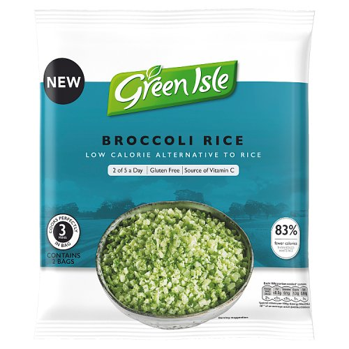 Green Isle Broccoli Rice 2 x 160g (320g)