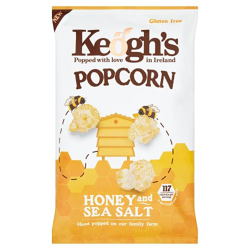 Keogh's Popcorn Honey and Sea Salt 90g
