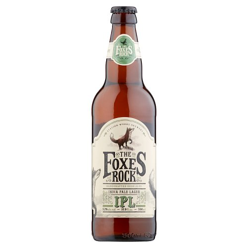 The Foxes Rock India Pale Lager 500ml