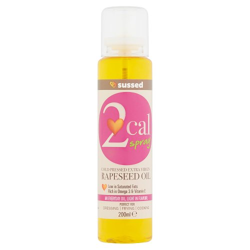 Sussed 2 Cal Spray Cold Pressed Extra Virgin Rapeseed Oil 200ml