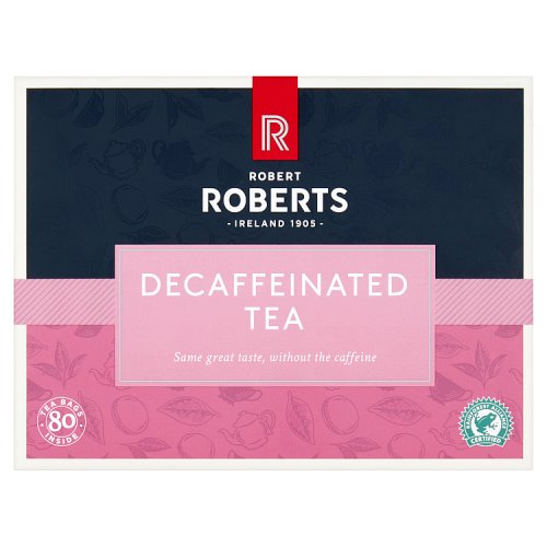 Robert Roberts Decaffeinated Tea 80 Tea Bags 250g