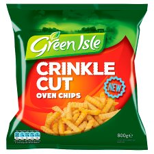 Green Isle Crinkle Cut Oven Chips 800G