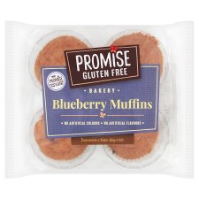 Promise Gluten Free Blueberry Muffin 4 Pack 240G