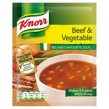 Knorr Beef And Vegetable Soup 60G