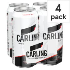 Carling Lager 4X440ml