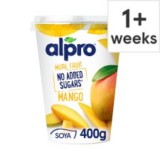 Alpro No Added Sugar Yoghurt Mango 400G