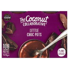 Coconut Collaborative Little Chocolate Pots Dairy Free 4X45g