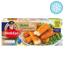 Birds Eye Gluten Free 12 Fish Fingers 360g