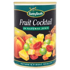 Sunny South Fruit Cocktail Naturl Juice411g