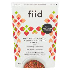 Fiid Aromatic Lentil And Sweet Potato Curry 400G