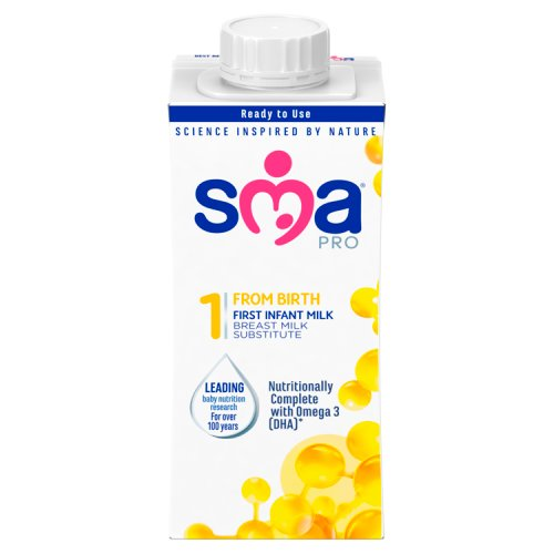 SMA® PRO First Infant Milk from Birth Ready to Drink 200 ml