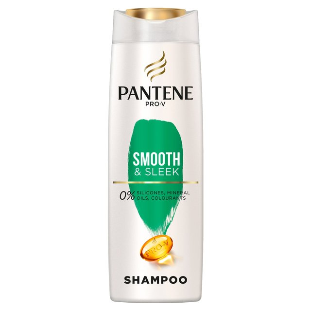 Pantene Shampoo Smooth And Sleek, Silicone Free 360ml