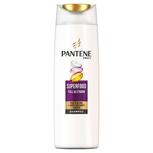 Pantene Pro-V Superfood Shampoo 360ml, For Weak, Thin Hair