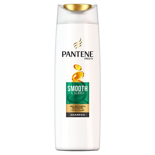 Pantene Shampoo Smooth And Sleek, Silicone Free 270ml