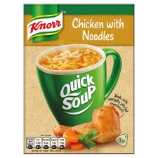 Knorr Quick Soup Chicken Noodle 3X64ml