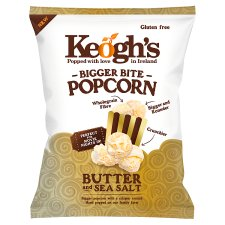 Keogh's Bigger Bite Popcorn Sea Salt And Butter 70G
