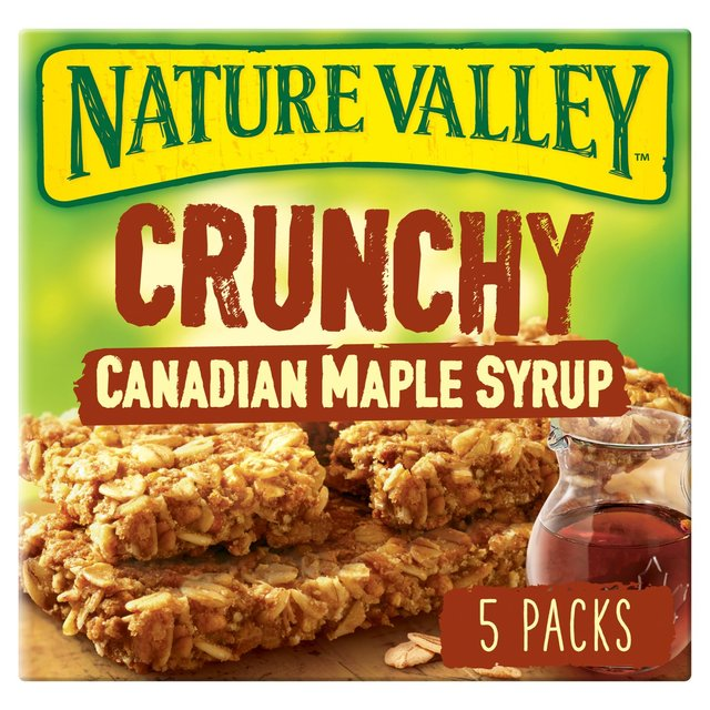 Nature Valley Crunchy Canadian Maple Syrup Cereal Bars 5 x 42g