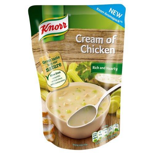 Knorr Cream of Chicken Soup 390g