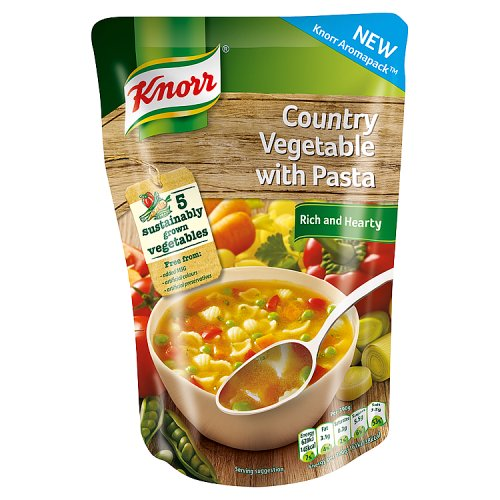 Knorr Country Vegetable with Pasta Soup 390g