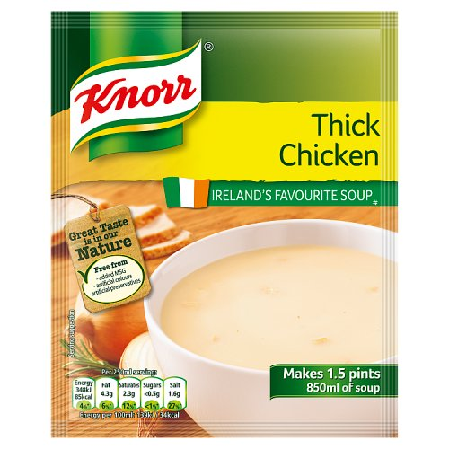 Knorr Soup Sach Thick Chicken 14x1.5pt
