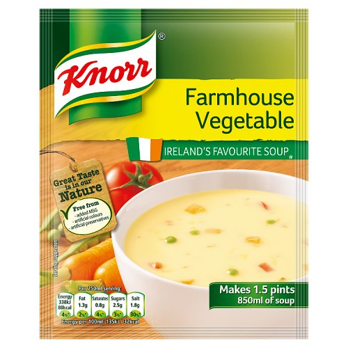 Knorr Soup Sach Farmh Vegetable 14X1.5pt