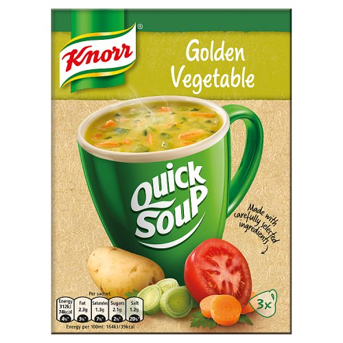 Knorr Quick Soup Gold Vegetable 3's 48g