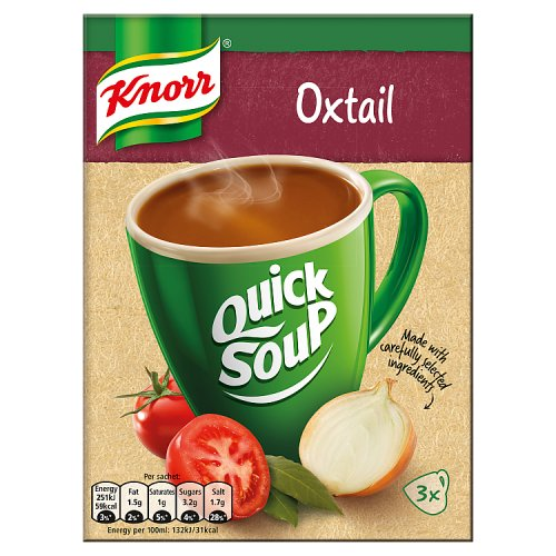 Knorr Quick Soup Oxtail 3's 42g