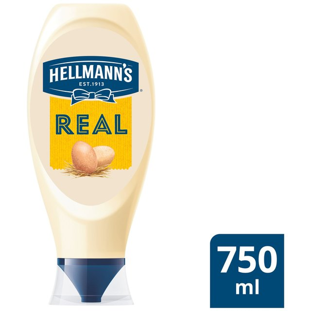 Hellmann's Real Squeezy mayonnaise 750 ml