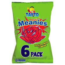 Tayto Meanies 6Packx102g