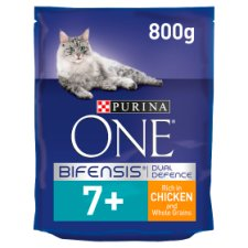 Purina One Cat Senior 7+ Chicken And Whole Grains 800G