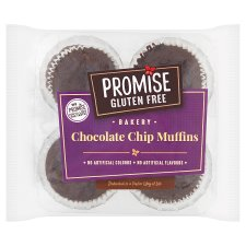 Promise Gluten Free Chocolate Chip Muffin 4 Pack 240G