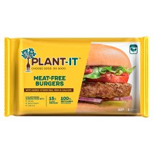 Plant-It Meat Free Burgers 227G