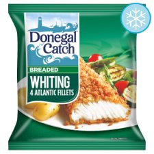 Donegal Catch 4 Breaded Whiting Fillets 450g