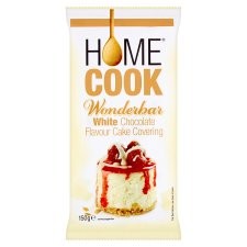Homecook Wonderbar White Chocolate Flavour Cake Covering 150g