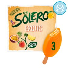 Solero Exotic Ice Lollies 3 X90ml