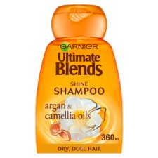 Garnier Ult/B Argan Oil Shiny Hair Shampoo 360Ml