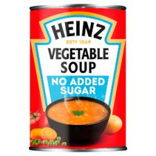 Heinz No Added Sugar Vegetable Soup 400G
